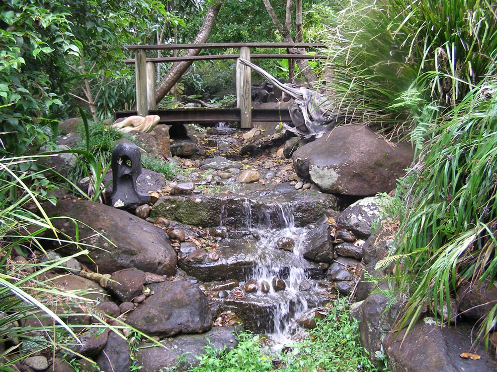 garden water features clunes