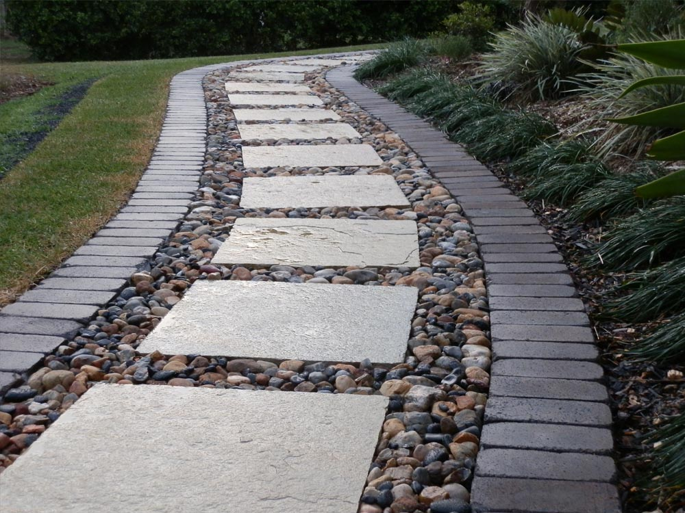 garden paving northern rivers