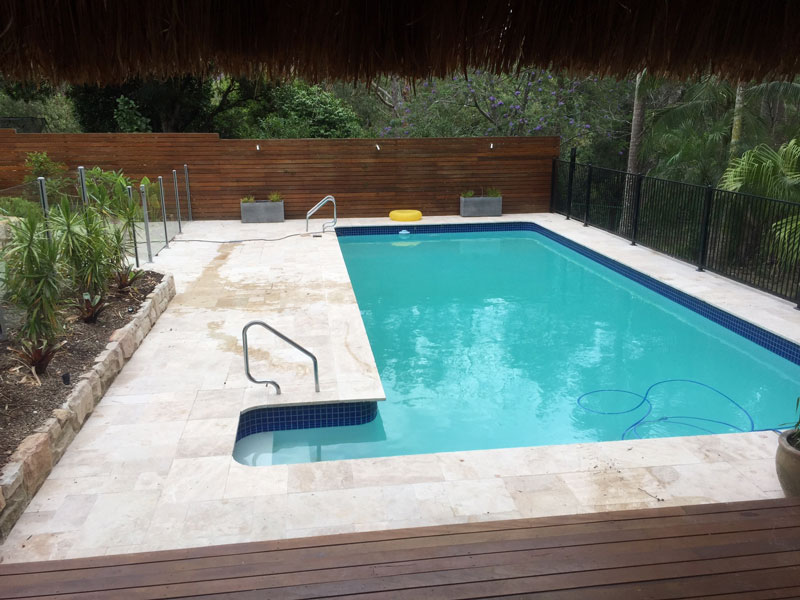 pool paving tweed. heads