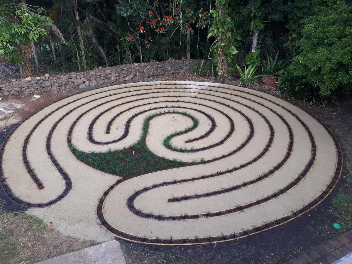 tweed coast landscaping decorative paving